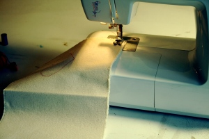 sewing right sides out